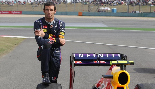 Webber sin combustible en el Gp de China