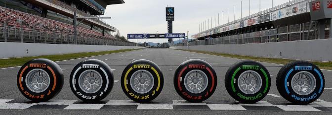 Elección de neumaticos en F1 2016