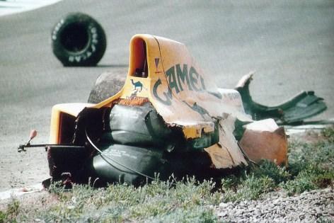 Lotus 102 de Martin Donnelly